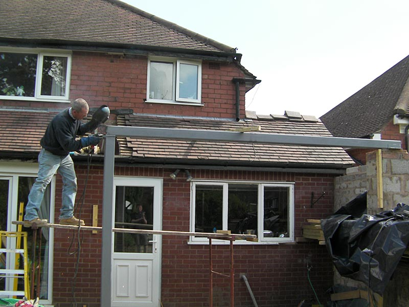 Woodfellas carpentry and structural steel work Midlands and Birmingham