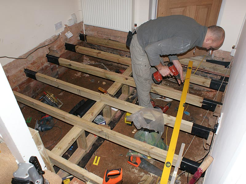 Woodfellas Carpenters Birmingham Removal Of Dry Rot And Flooring